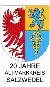 Wappen mit Schriftzug 20 Jahre