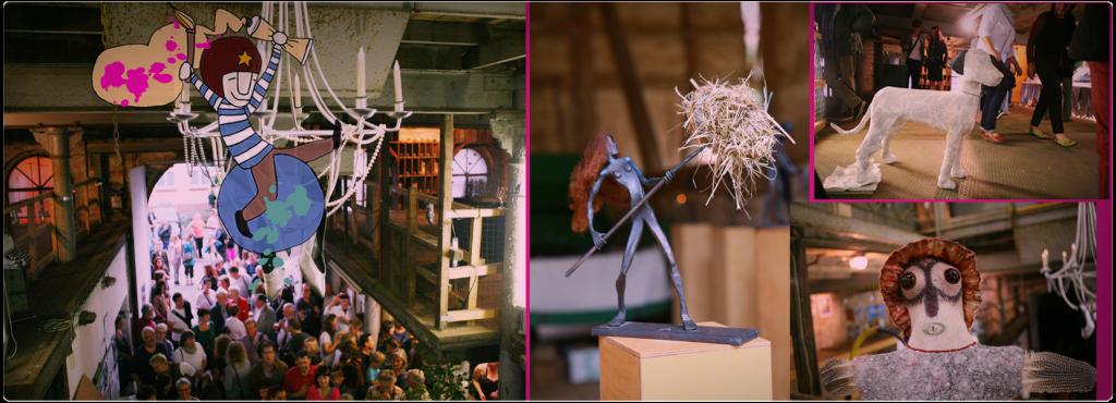 WAGEN & WINNEN das Kunst Event wir am 11.9. um 19 Uhr im GERLACH Speicher in Salzwedel eröffnet!!!