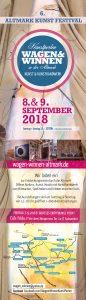 Wagen und Winnnen 2018 Kunstfestival Altmark